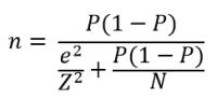 Wzór na minimalną liczebność próby